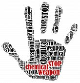 stock photo of chemical weapon  - Stop chemical weapon - JPG
