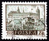 Postage Stamp Poland 1960 View Of Szczecin, Historic Town