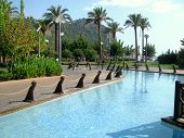 image of cleopatra  - Magnificent park near Cleopatra Beach with lovely ponds - JPG