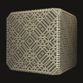 Solid Brass Cube