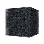 rhombus cube