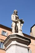 picture of luigi  - Luigi Galvani statue in Bologna Italy - JPG