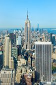 stock photo of empire state building  - Empire state building of New York city - JPG