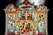 Traditional Street Organ in the Streets of Amsterdam