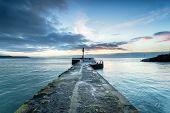Sunrise Over Looe Pier