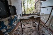 School In Chernobyl Zone