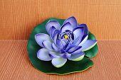 Purple Artificial Lotus