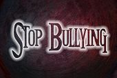 foto of stop bully  - Stop Bullying Concept text on background idea - JPG