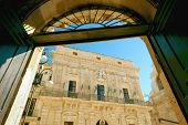 baroque City Hall in Ortigia islet, Siracusa of Sicily