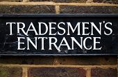 Tradesmen's Entrance