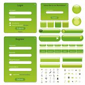 Web Template Green