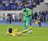 Ukraine - Lithuania National Teams Friendly Football Match