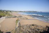 Viso Beach In Asturias