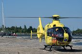 Medical dutch rescue helicopter