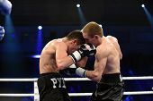 Ranking boxing fight in Palace of sport
