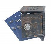 Passports In A Safe