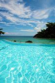 Infinity Pool Vacation On Boracay Resort
