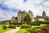 beautiful fairy castles of France -Jumilhac-le-grand