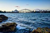 Sydney, Australia - December 29 , 2014 : Opera House And Harbour Bridge