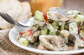 Homemade Herring Salad