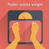 Poster Scales Weight