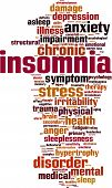 Insomnia Word Cloud