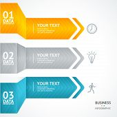 image of text-box  - Vector colorful text boxes - JPG