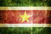 picture of suriname  - Flag of Suriname - JPG