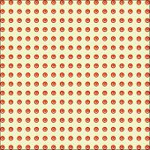Simple seamless pattern in a row.
