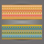 Pattern Background With Geometrically Elements
