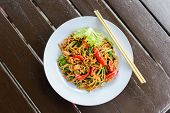 stock photo of malay  - Malay style stir fried noodles - JPG