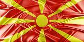 picture of macedonia  - Macedonia Flag - JPG