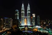 picture of klcc  - pictures taken on a short round the world trip in 2014 - JPG