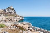 pic of gibraltar  - Summit of the Rock of Gibraltar seen from Europa Point - JPG