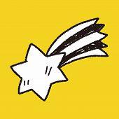 pic of meteor  - Doodle Meteor - JPG