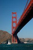 Unter der Golden Gate