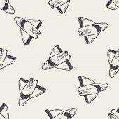 image of spaceships  - Spaceship Doodle - JPG