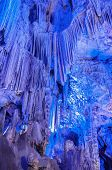 picture of gibraltar  - Stalactites inside of St - JPG