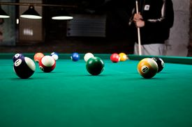 image of pool ball  - Billiard balls  - JPG
