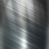 Metal brushed shiny surface for texture. poster