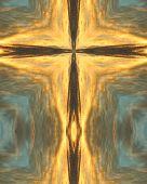 Hopi Sunrise Cross