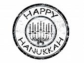 Happy Hanukka Stamp