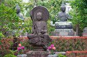 Buddist Statue In Osaka