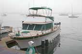 Yacht At Dock