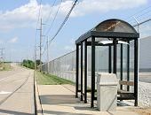 Roadside Bus Stop