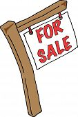 Real Estate Sign For Sale
