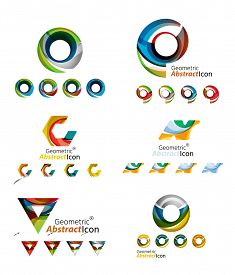 picture of emblem  - Universal abstract geometric shapes  - JPG