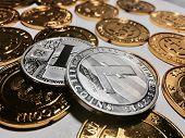 Litecoin Coin Concept poster