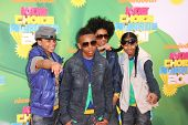 LOS ANGELES - APR 2:  Mindless Behavior arriving at the 2011 Kids Choice Awards at Galen Center, USC on April 2, 2011 in Los Angeles, CA