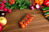 Assortment Of Fresh Vegetables poster